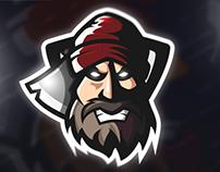 Lumberjack | Mascot Logo (FOR SALE)