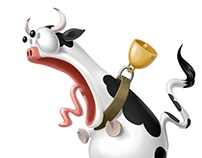 Billboard for a Milk Factory