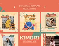 Kimori Instagram Template