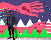 Mural Copa do Mundo 2014