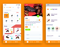 Ecommerce Mobile Ui/Ux Adobe XD Template
