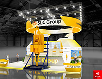 The project of the stand for the SLC Group
