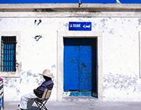 Essaouira, Morocco, town of sleeppy cats