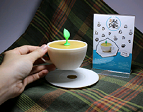 Coffee Decor Lamp