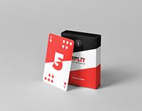 Split Playing Cards