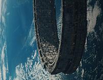 Orbital city | 3284