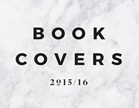 Book Covers 2015/16