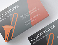 Business Cards for Crystal