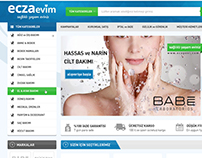 Eczaevim - store website design