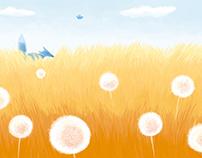 ~The Blue Fox~ children's book