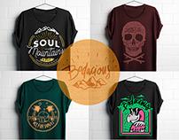 Bodacious t-shirts
