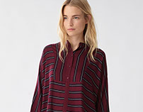 Classy burgundy collection - for Oysho