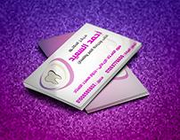 teeth business card