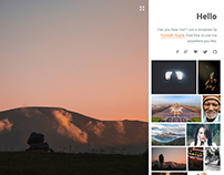 Photography Reimagined | HTML5 Website Template