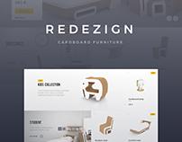 Redezign - Cardboard Furniture