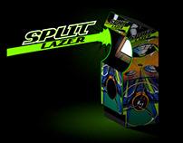 Split Lazer - Covering d'une borne d'arcade
