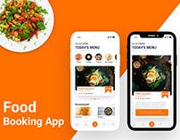 Food Booking App Concept