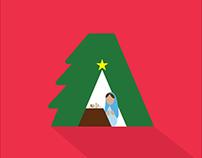 Adobe Christmas tree