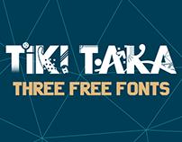 Tiki Taka - free font