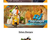 Publicity designers in Tollywood.
