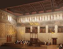 Sinagoga del Tránsito. Toledo XIV-XVth. century