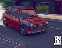 The Bourne Identity- Mini Cooper Car Chase