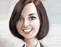 Brenda caricature
