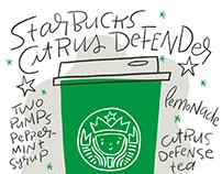 Starbucks Citrus Defender