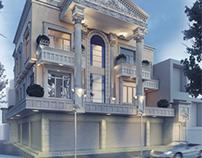 New classic style villa