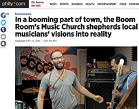 Music Article From May 24th, 2016 Philadelphia Inquirer