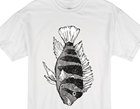 Icon Fish T-Shirt Design