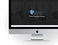 Lucero & Portalatin · Web design