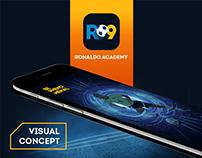 Visual Concept Ronaldo Academy App