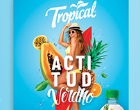 AD campaign // TV ACTITUD TROPICAL® 2017