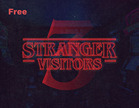 Stranger Things Free Font Effect (PSD)