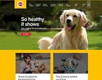 Pedigree Website Design Responsive | UI/UX