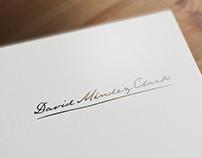 Logo Design - Lic. David Mendez Clark