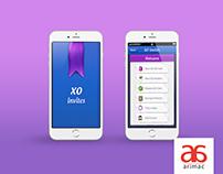 XO Invites | App UI Designs