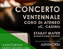 """Concerto per il Ventennale del Coro """"C. Casini"""""""