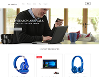 E-commerce Website | PSD to HTML |