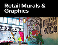 Retail Murals & Graphics