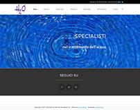 H2O Italia - Sito Web Aziendale