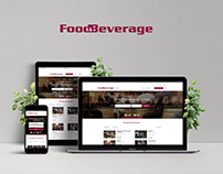 Food&Beverage, web design
