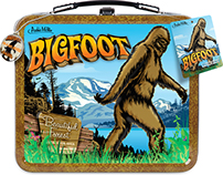 Big Foot research kit & collectibles.