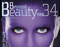 Cover. Beyond beauty magazine.