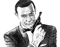 James Bond in Procreate
