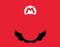 Super Mario's Minimalist Series