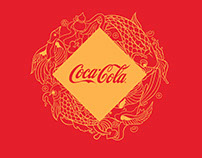 Coca Cola 2016 Chinese New Year Fortune Can Design