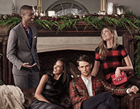 Brooks Brothers Holiday 2016 Campaign