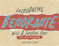 Benorante - Display Font